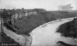 Tidenham Crags c.1872, River Wye