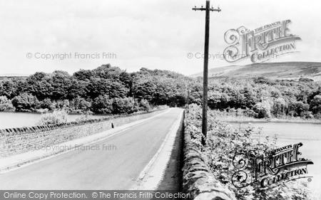 Rivington, Church and Lakes c1955