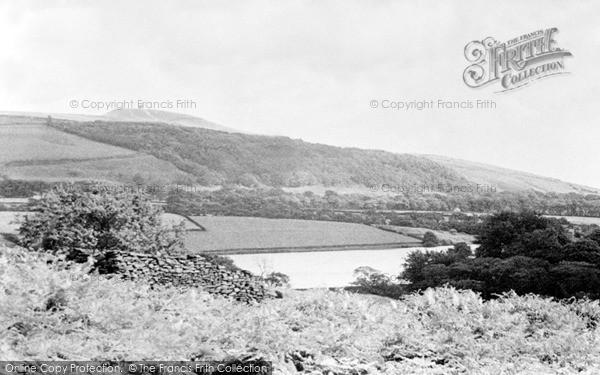 Photo of Rivington, Pike From Anglezarke c.1955