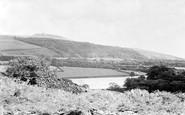 Rivington, Pike from Anglezarke c1955