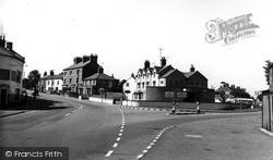 Globe Hotel c.1955, Road Weedon