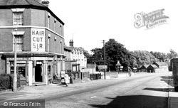 The Globe Hotel c.1965, Road Weedon