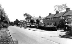 Watling Street c.1965, Road Weedon