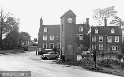 Robertsbridge, Clock Tower And George Hotel c.1955