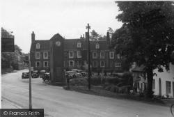 Robertsbridge, George Hotel And Memorial c.1955