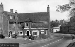Robertsbridge, George Hotel Corner c.1955