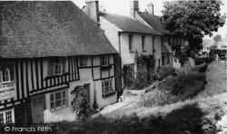 Robertsbridge, Old Cottages c.1960