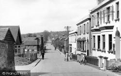Robertsbridge, Station Road c.1955