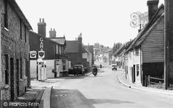Robertsbridge, View From The Bridge c.1955