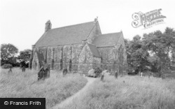 Roberttown, All Saints Parish Church c.1965