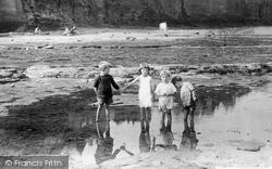 Children On The Beach 1927, Robin Hood's Bay