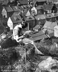 Girl Reading 1927, Robin Hood's Bay