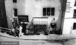 Ko-Weeka Cafe - Shop c.1965, Robin Hood's Bay