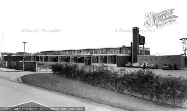 Springfield Secondary School c1965, Rocester photo