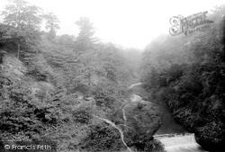 Rochdale, Carr Wood Waterfall 1895