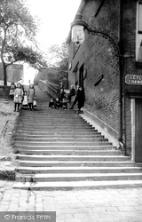 Rochdale, Church Steps 1913