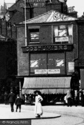 Rochdale, Costumier's Shop, Broadway c.1910