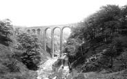 Rochdale, Healey Dell Viaduct 1898