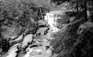 Rochdale, Healey Dell Waterfall 1895