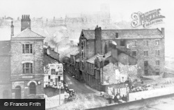 Rochdale, Packer Street And The Gank c.1870