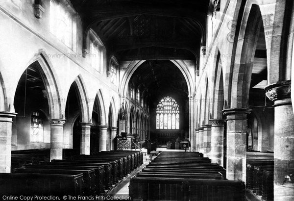 Photo of Rochdale, Parish Church Interior 1892