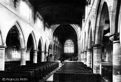 Rochdale, Parish Church Interior 1892