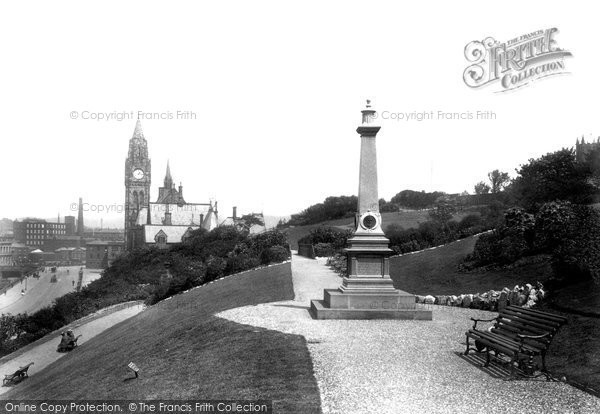 Photo of Rochdale, The Memorial 1902