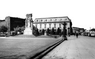 Rochdale, The Memorial And The Post Office c.1965
