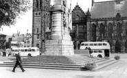 Rochdale, The Memorial c.1965