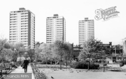 Rochdale, Tower Blocks c.1965