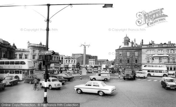 Photo of Rochdale, Town Centre 1966