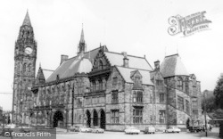Rochdale, Town Hall From South West c.1965