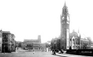 Rochdale, Town Hall Square 1892