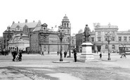 Rochdale, Town Hall Square 1913