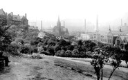Rochdale, View From The Park Slopes 1913