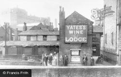 Rochdale, Wheelpit Court 1909