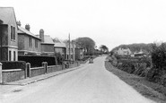 Roche, approach to Village c1955