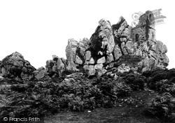 Roche, Hermit's Chapel 1887