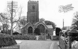 Roche, St Gomonda's Church c.1955