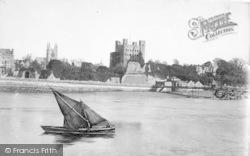 Rochester, Castle c.1862