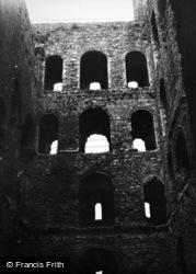 Rochester, Castle c.1955