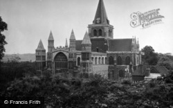 Rochester, Cathedral c.1950