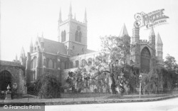 Rochester, Cathedral, From The North West 1894