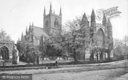 Rochester, Cathedral, North West c.1910