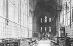 Rochester, Cathedral, The Choir East 1894
