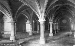 Rochester, Cathedral, The Crypt 1894