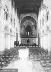 Rochester, Cathedral, The Nave East 1894