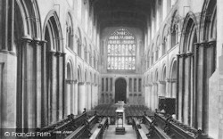 Rochester, Cathedral, The Nave West 1894