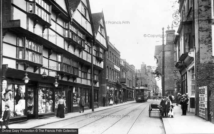 Photo of Rochester, High Street 1908, ref. 59875