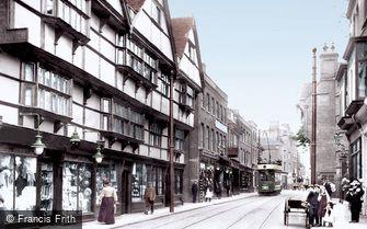 Rochester, High Street 1908